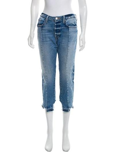 FRAME Nouveau Le Mix Mid-Rise Jeans