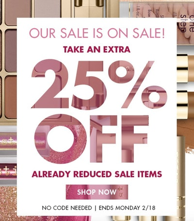 Additional 25% Off Sale