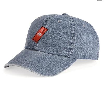 Fire Sauce Packet Unstructured Denim Hat