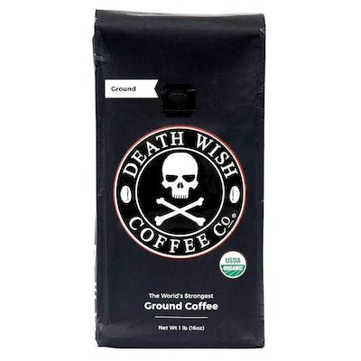 Death Wish Ground Coffee