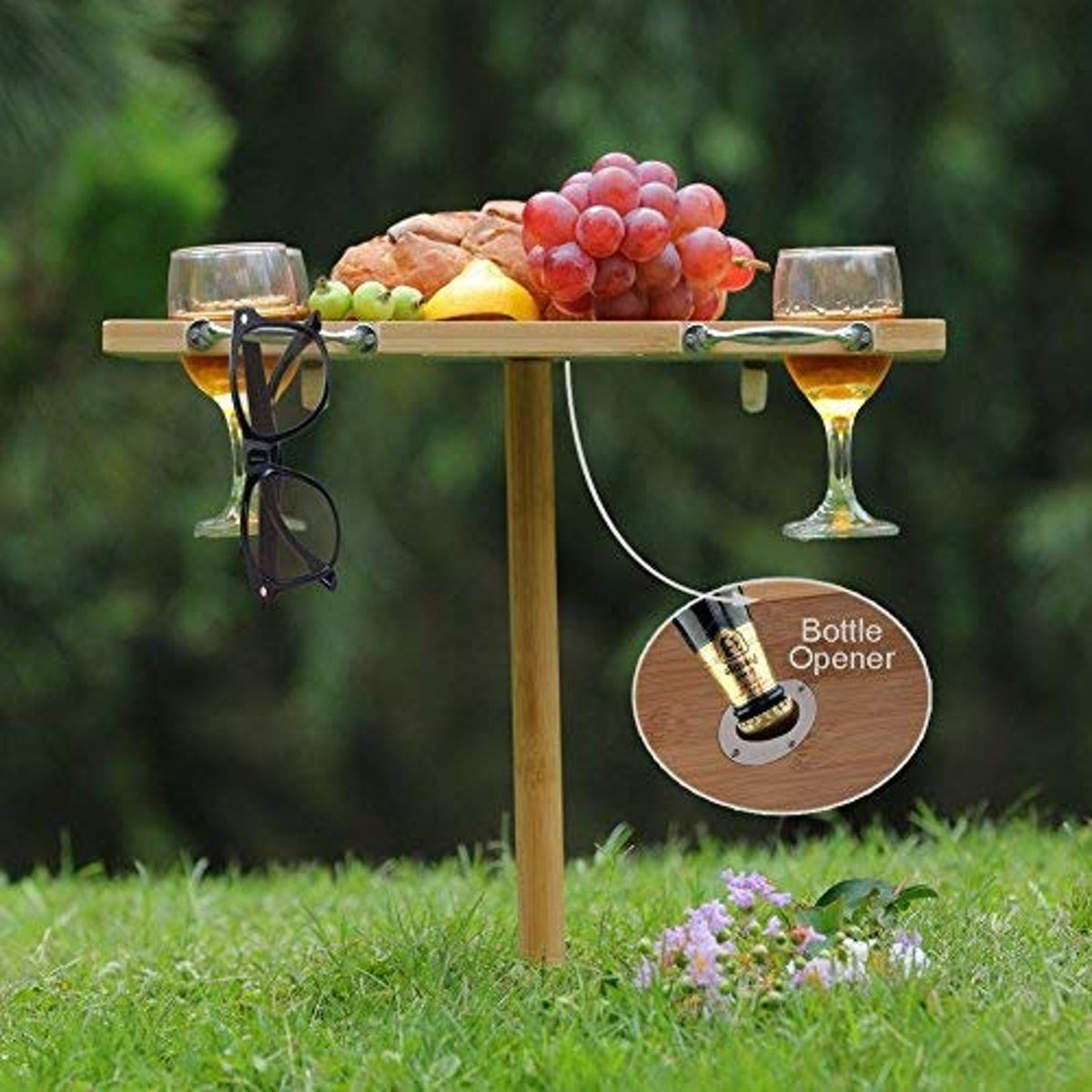 INNO STAGE Portable Wine Table