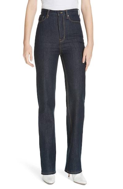 La Vie Rebecca Taylor Mireille High Waist Bootcut Jeans