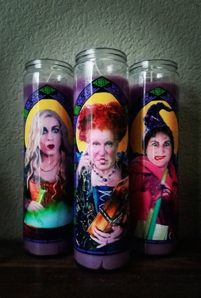 Hocus Pocus Prayer Candles