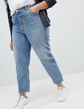 Florence Authentic Straight Leg Jeans In Light Stone Wash