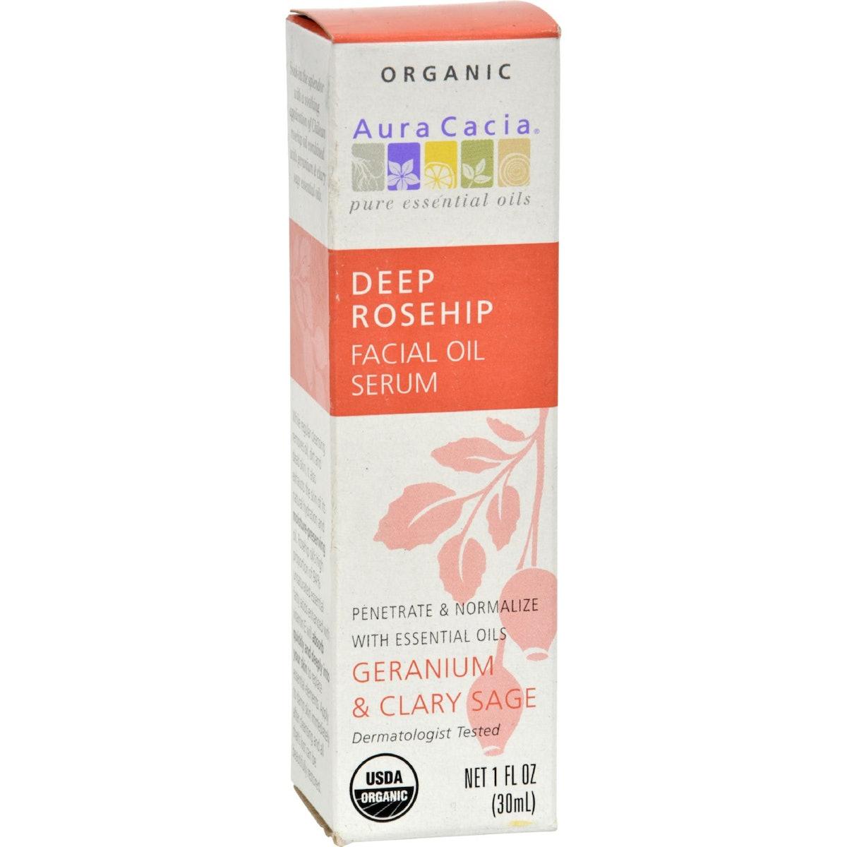 Aura Cacia Facial Oil Serum, 1 oz