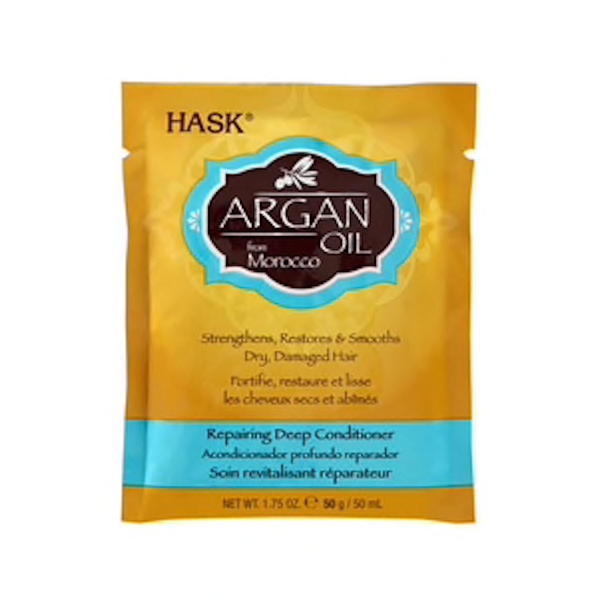 HASK Argan Oil Repairing Deep Conditioner Packette