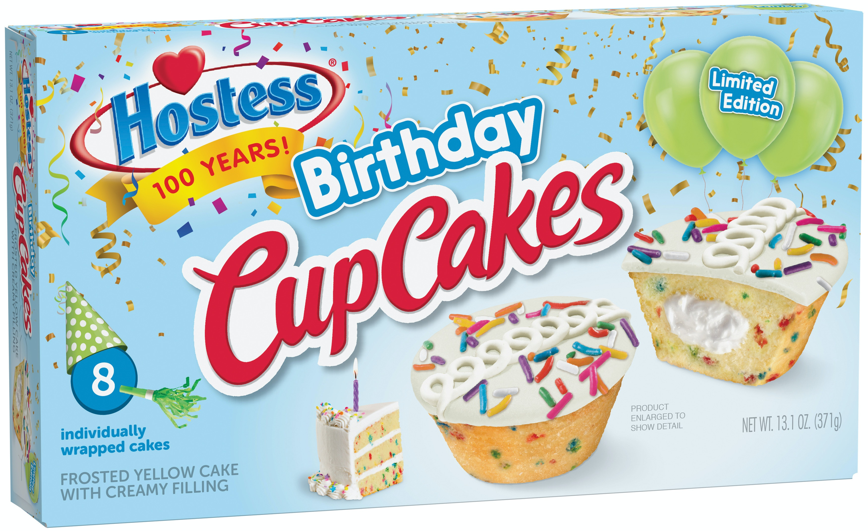 Superb Hostess Birthday Cupcakes Celebrate The Iconic Snack Cake Makers Personalised Birthday Cards Cominlily Jamesorg