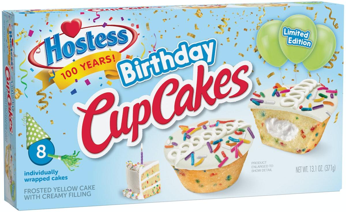Hostess Birthday CupCakes Celebrate The Iconic Snack Cake Maker's 100th Anniversary