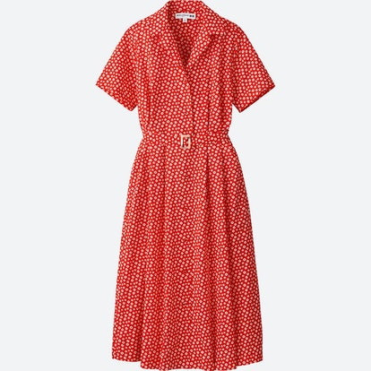 Lawn Tuck Short Sleeve Dress