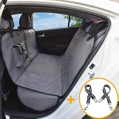 AMOFY Dog Car Seat Covers