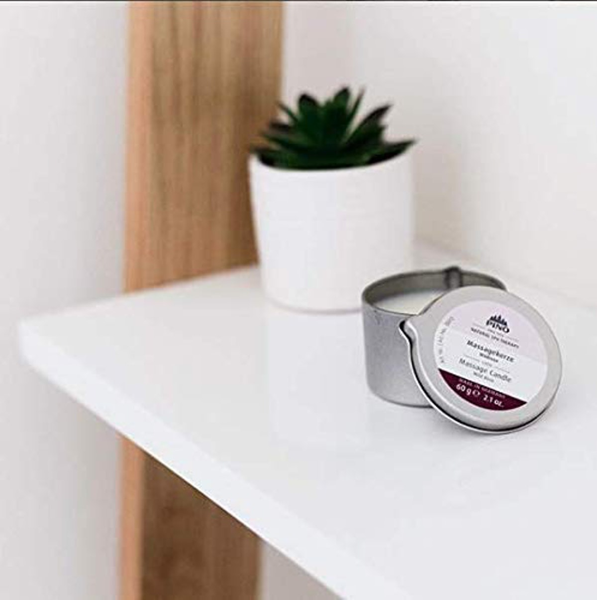 PINO Natural Spa Therapy Scented Massage Candle