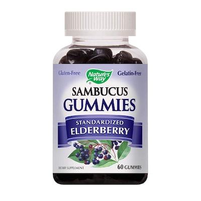 Nature's Way Sambucus Elderberry Gummies
