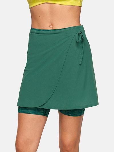 Outdoor Voices TissueWeave Wrap Skirt