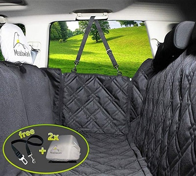 Meadowlark Dog Seat Covers With Full Car Protection