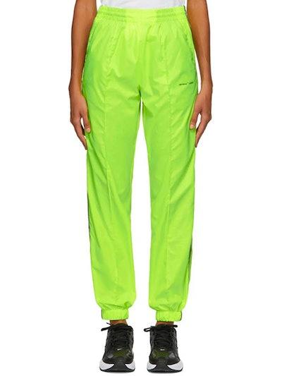 Yellow Jogging Lounge Pants