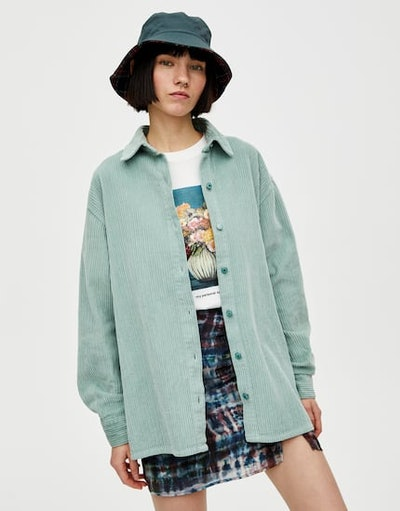 Coloured Corduroy Shirt