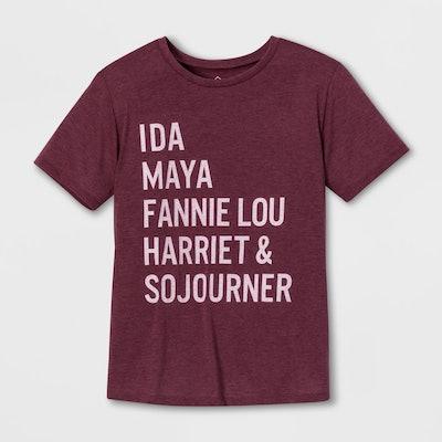 Ida, Maya, Fannie Lou, Harriet, & Sojourner