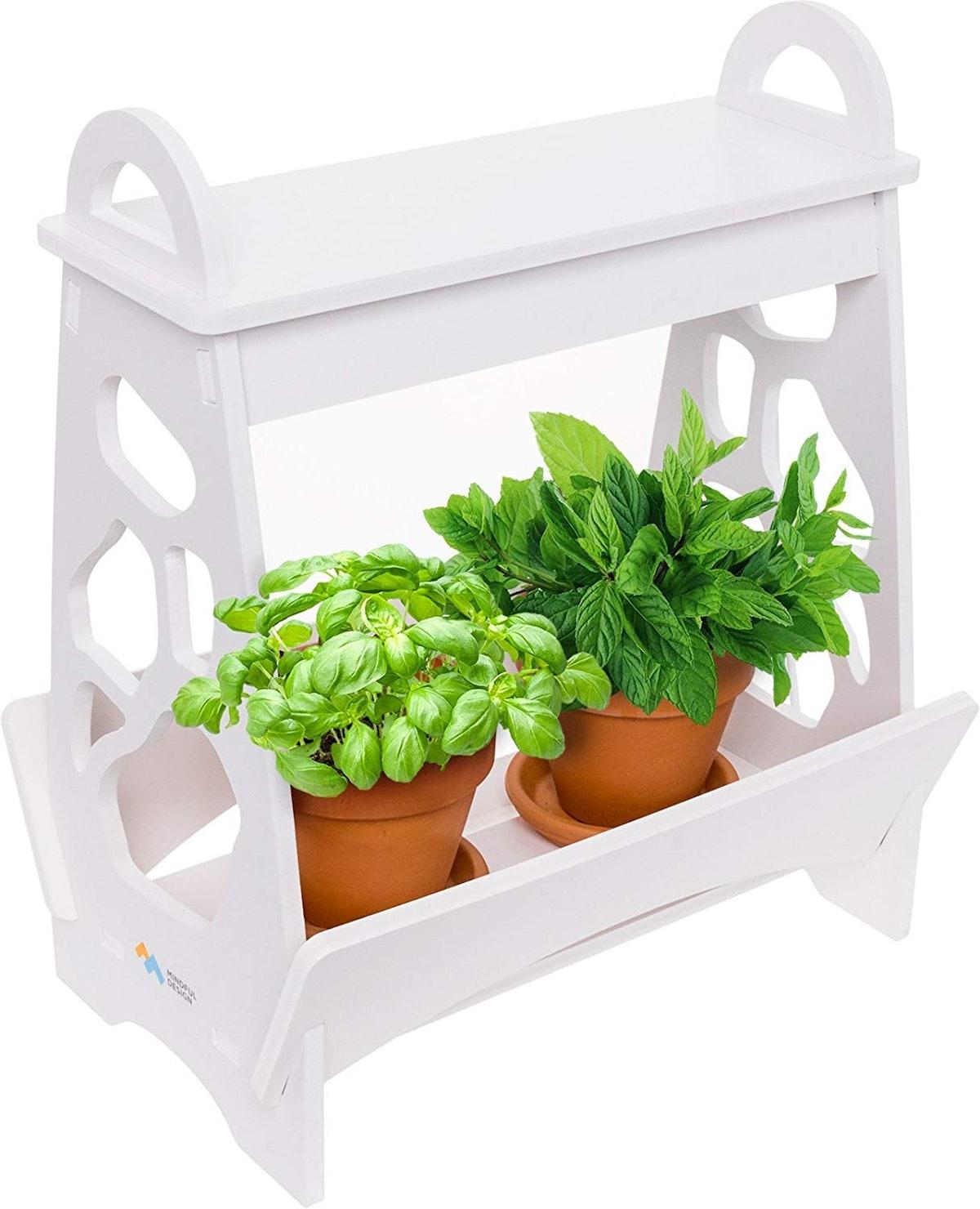 Mindful Design Indoor Herb Garden