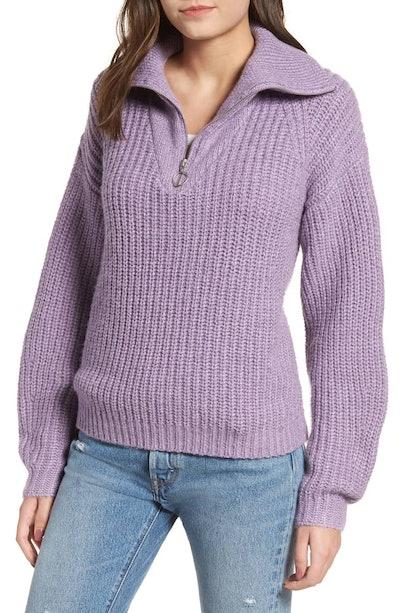 BP. Quarter Zip Sweater