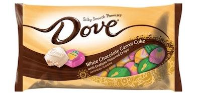 Dove Easter White Chocolate Carrot Cake
