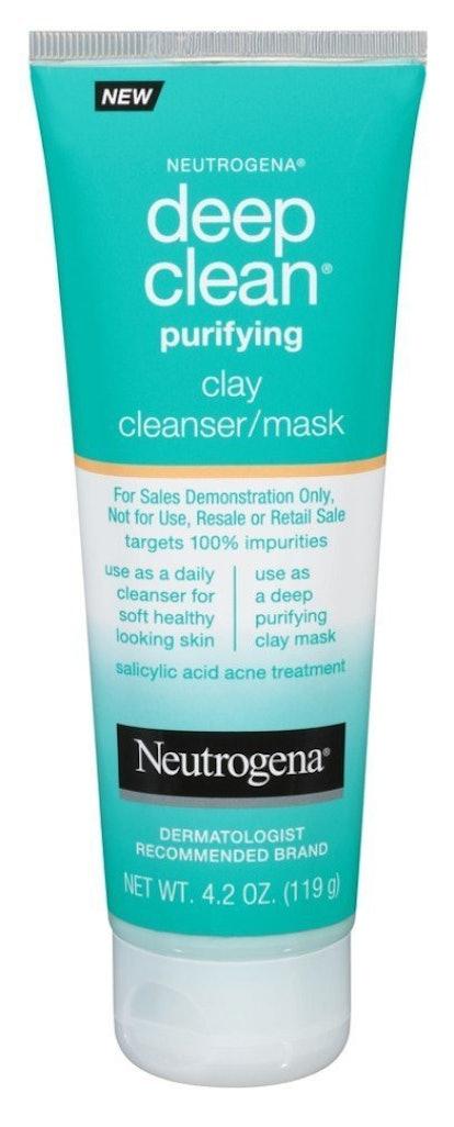 Neutrogena Deep Clean Purifying Cleanser & Mask