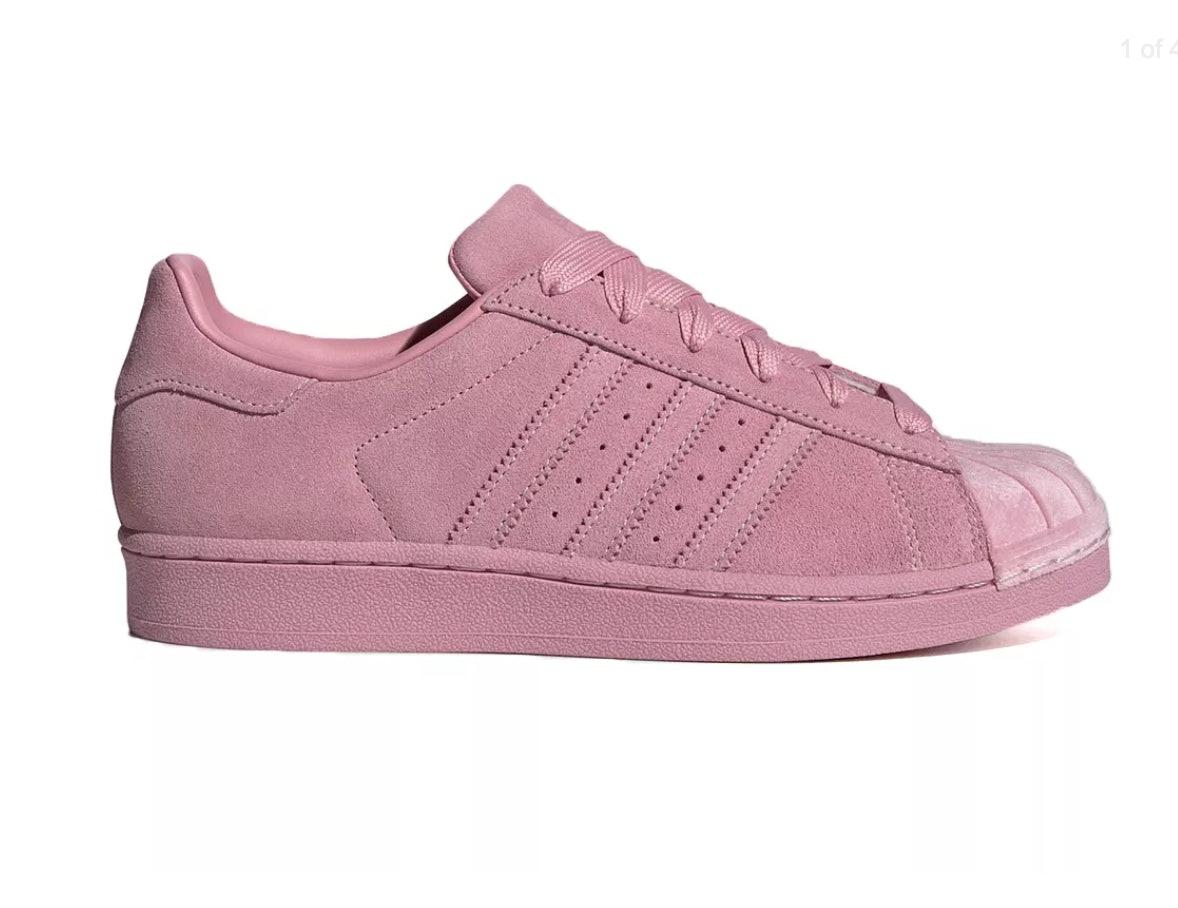 velvet adidas sneakers