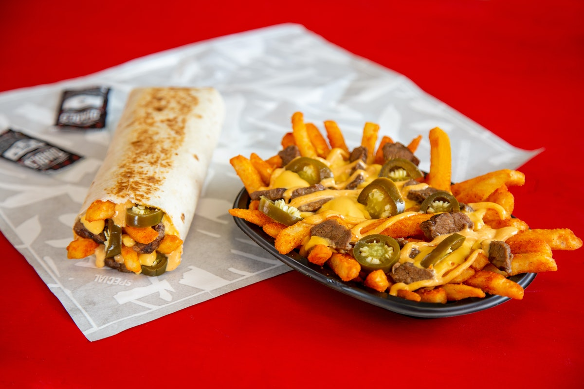 Taco Bell's Steak Rattlesnake Fries Are About To Hit Menus Nationwide As A Spicy Snack