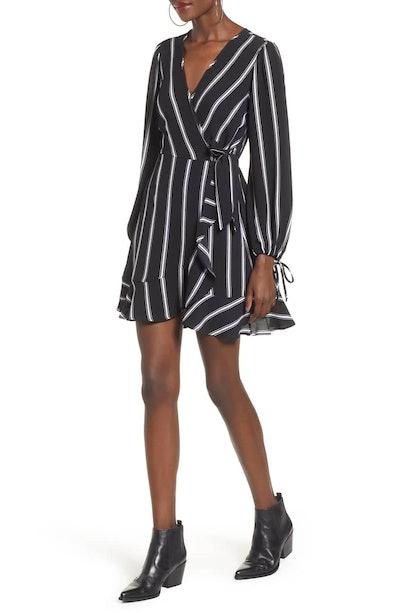 Ruffled Stripe Dress