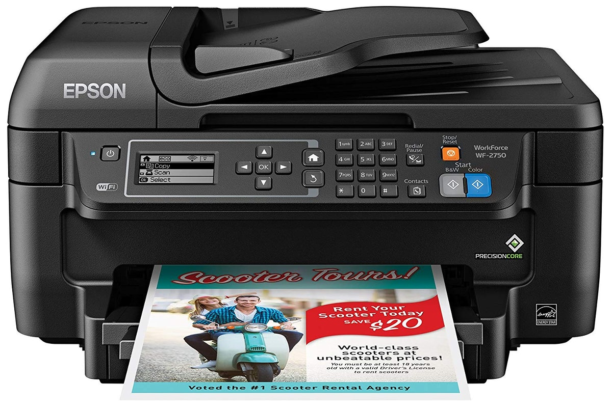 Epson WF-2750 All-in-One Wireless Color Printer