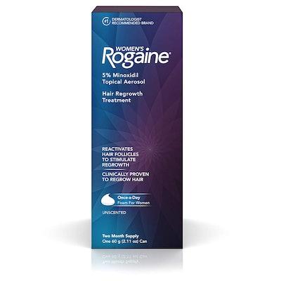 Women's Rogaine 5% Minoxidil Foam Hair Regrowth Treatment
