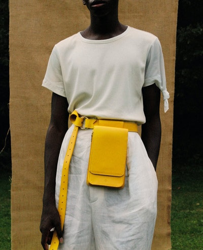 Cedar Belt Bag in Citrine