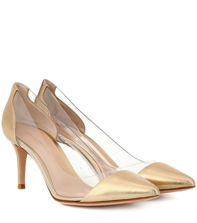 Plexi 70 Metallic Leather Pumps