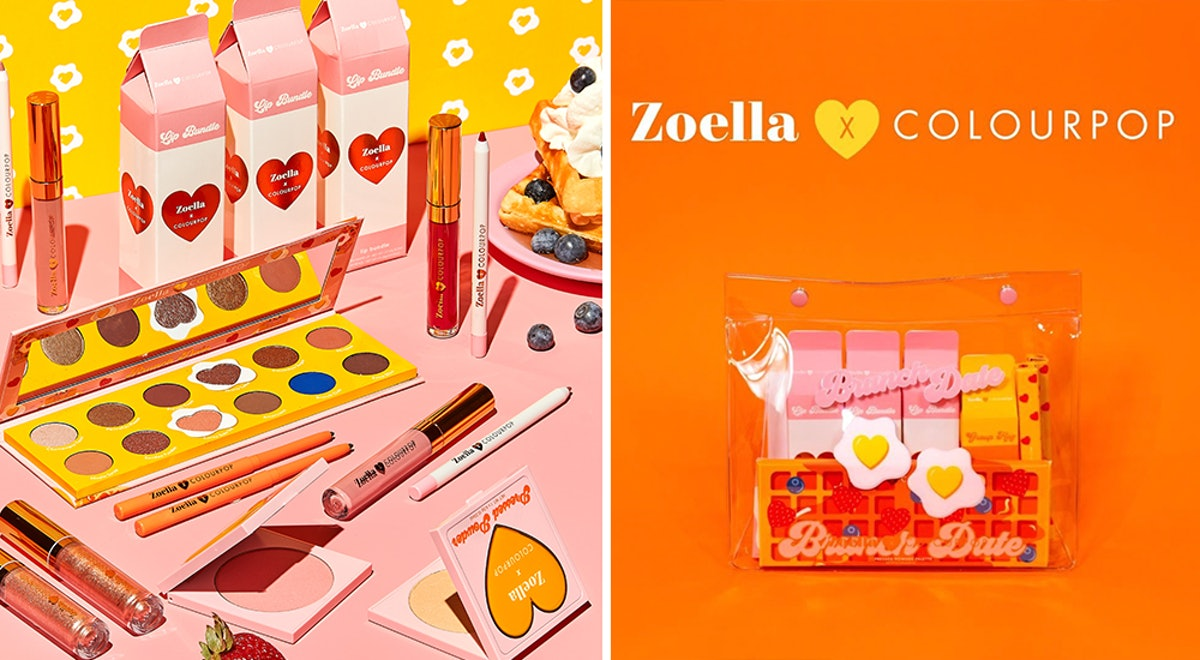 The Zoella x ColourPop Collection Has The Cutest Brunch Theme To Get You In The Mood For Spring