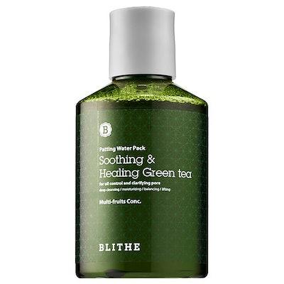 Soothing & Healing Green Tea Splash Mask