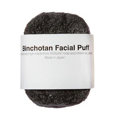 Binchotan Facial Puff by Morihata
