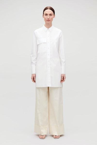 Utilitarian Shirt With Pocket