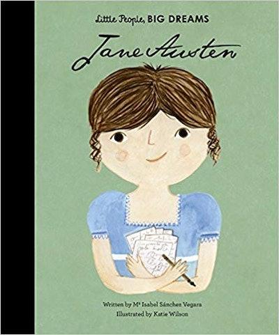 """Little People, BIG DREAMS: Jane Austen,"" by Isabel Sanchez Vegara"