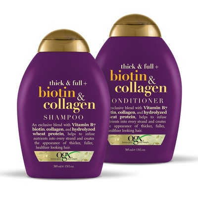 OGX Thick & Full+ Biotin & Collagen Shampoo And Conditioner