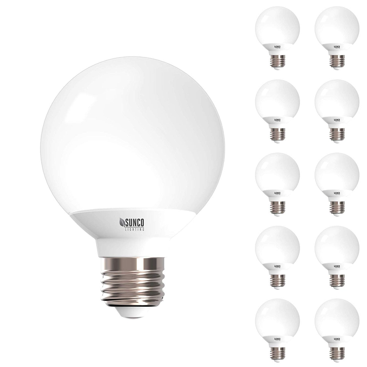 Sunco Lighting Warm White Bulb For Vanities (10-Pack)
