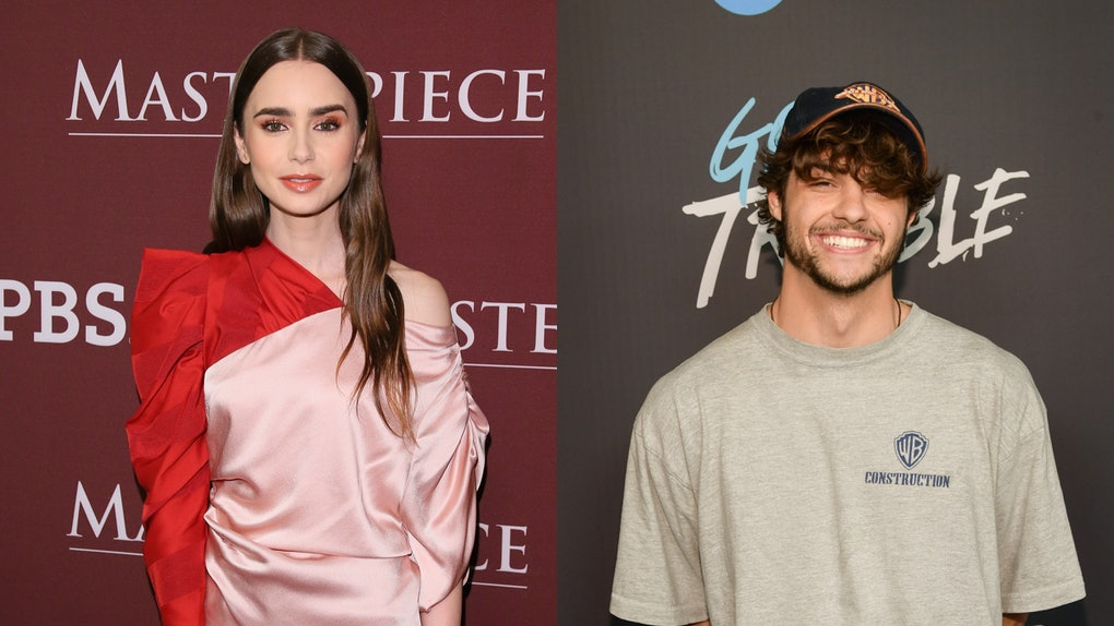 32e57e0e68c Lily Collins  Comment On Noah Centineo s Instagram Is So Flirty