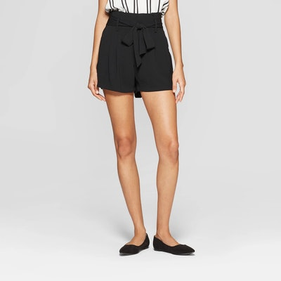 A New Day Women's Paperbag Waist Shorts