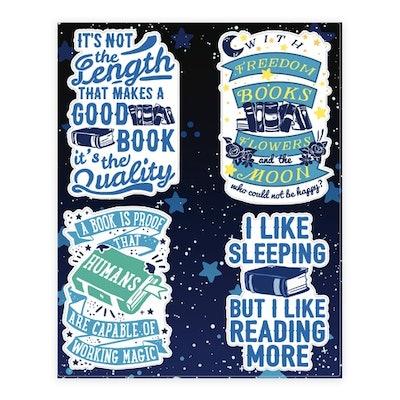 Magical Book Sticker