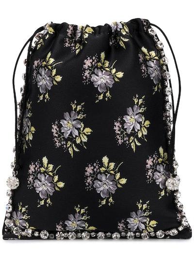 Floral Print Mini Bag