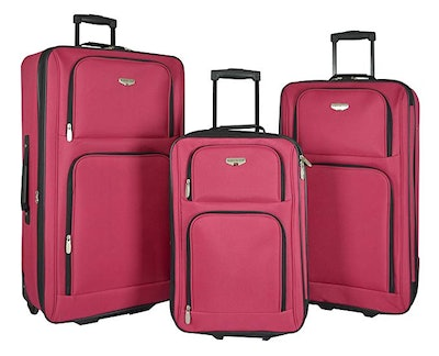 """Travelers Club 3 Piece Expandable """"Genova Collection"""""""