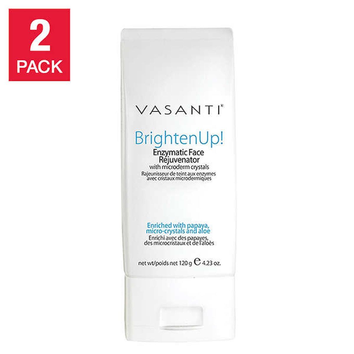 Vasanti Brighten Up! Enzymatic Face Rejuvenator Cleanser