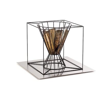 Skargaarden Boo Fire Basket - Large - Black