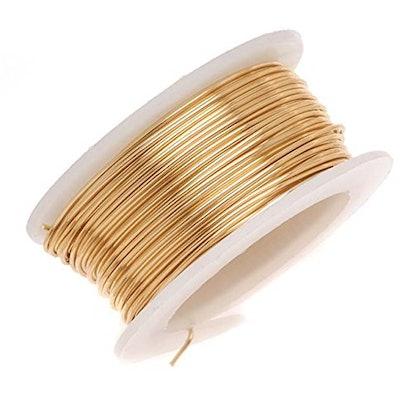 18-Gauge Non-Tarnish Brass Wire
