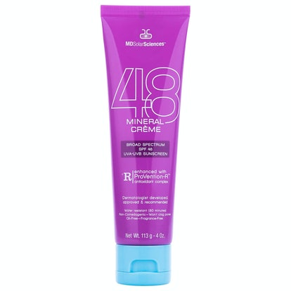 MDSolarSciences Mineral Crème SPF 48 Broad Spectrum UVA-UVB Sunscreen FSA Eligible