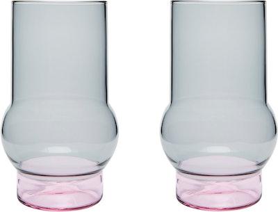 Tom Dixon Bump Tall Glass - Set of 2