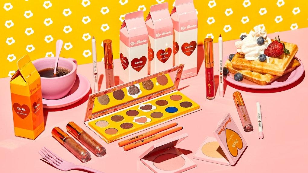 Znalezione obrazy dla zapytania ColourPop x Zoella Brunch Collection